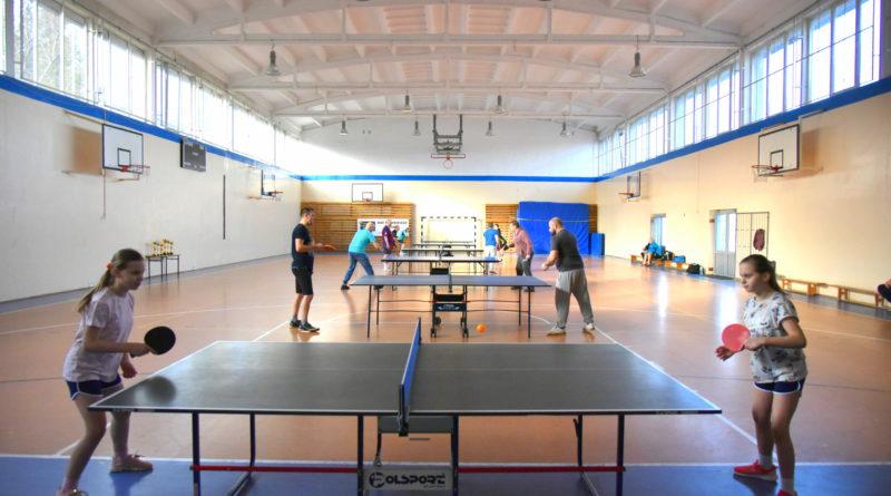 Turniej tenisa Stołowego o Puchar Rady Gminy pod patronatem Wójta Gminy Krokowa