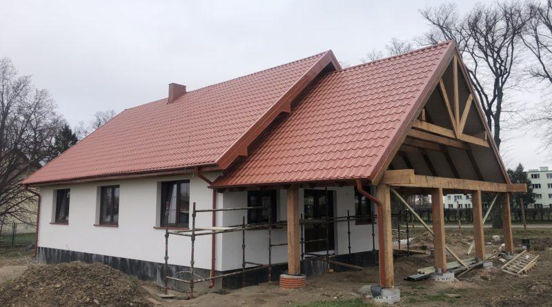 Budowa obiektu świetlicy wiejskiej w Kłaninie