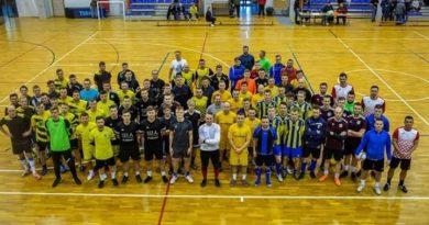 """Nasi na Mistrzostwach Powiatu Puckiego w Futsalu """"Kibol Cup""""o Puchar Burmistrza Władysławowa"""