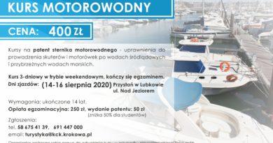 Kurs Motorowodny w Lubkowie