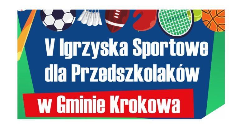 V Igrzyska Sportowe dla Przedszkolaków