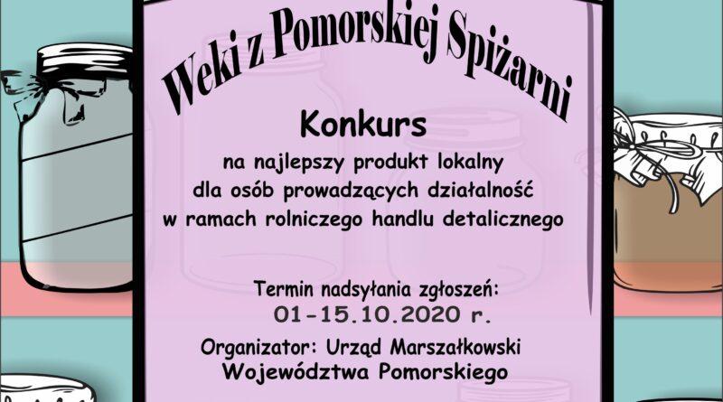 """Konkurs """"Weki z Pomorskiej Spiżarni"""