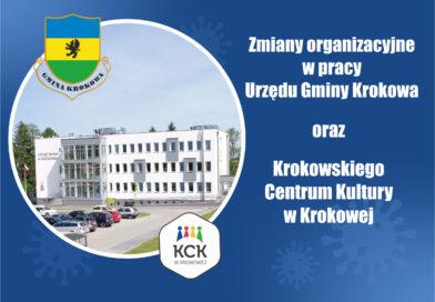 Reorganizacja pracy KCK w Krokowej oraz Urzędu Gminy Krokowa