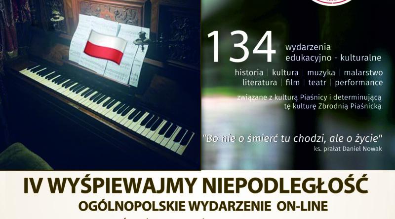 IV Wyśpiewajmy Niepodległość – wydarzenie online