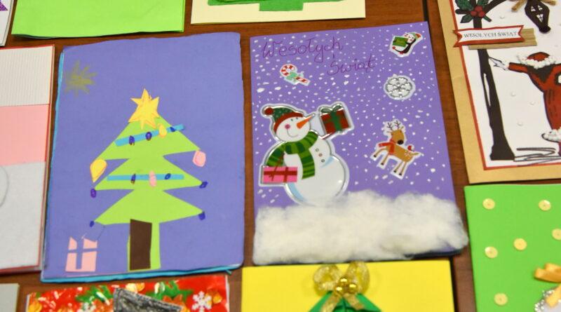 """Z ogromną przyjemnością ogłaszamy wynikiKonkursu plastycznegona najpiękniejszą """"Kartkę Świąteczną"""""""