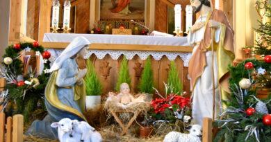 Szopki bożonarodzeniowe w gminie Krokowa