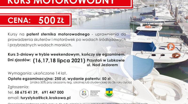 Kursy i szkolenia żeglarskie na Jeziorze Żarnowieckim. Kursyzakończone egzaminem, profesjonalna kadra, wykłady i szkolenie na wodzie.Zapisz się już dziś!